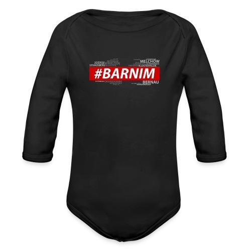 HASHTAG BARNIM - Baby Bio-Langarm-Body