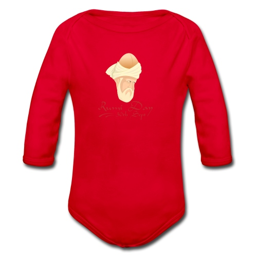 Rumi Day, 30th Sept - Organic Longsleeve Baby Bodysuit