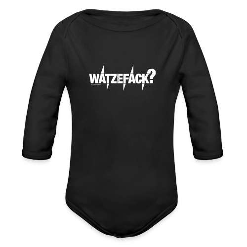 Watzefack - Baby Bio-Langarm-Body