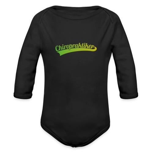 Chiropraktiker (DR12) - Baby Bio-Langarm-Body