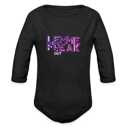 Lemme Freak - Baby Bio-Langarm-Body