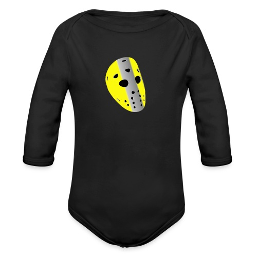 Torwartmaske yello - Baby Bio-Langarm-Body