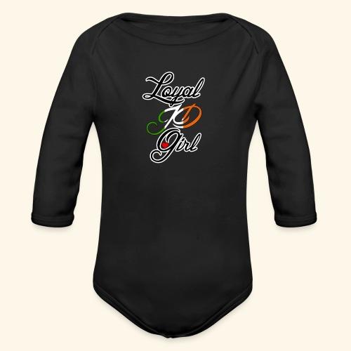 Loyal JD girl - Organic Longsleeve Baby Bodysuit
