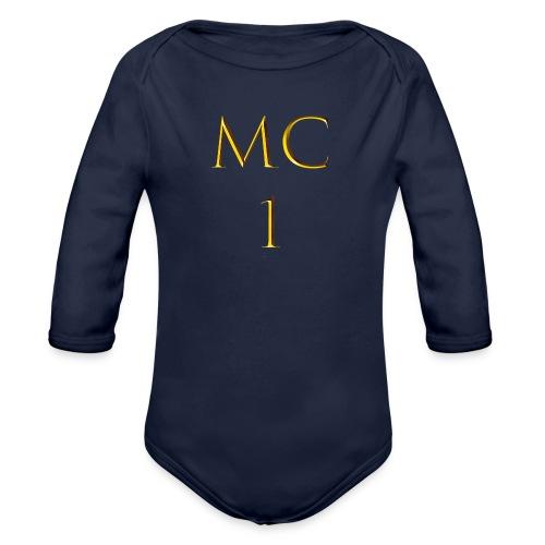 MC1 - Baby Bio-Langarm-Body