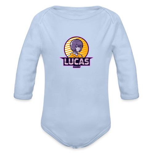 Lucas Artzzz... - Baby bio-rompertje met lange mouwen