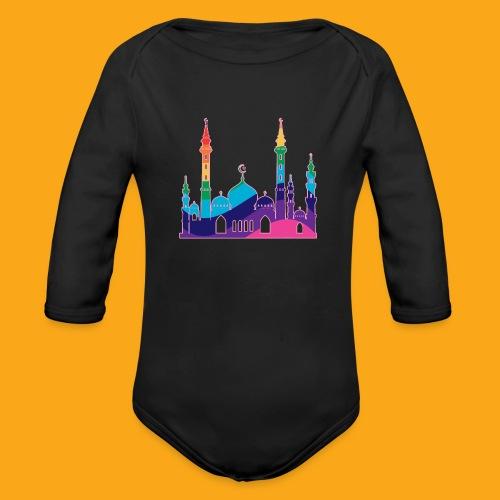 Moschee - Baby Bio-Langarm-Body