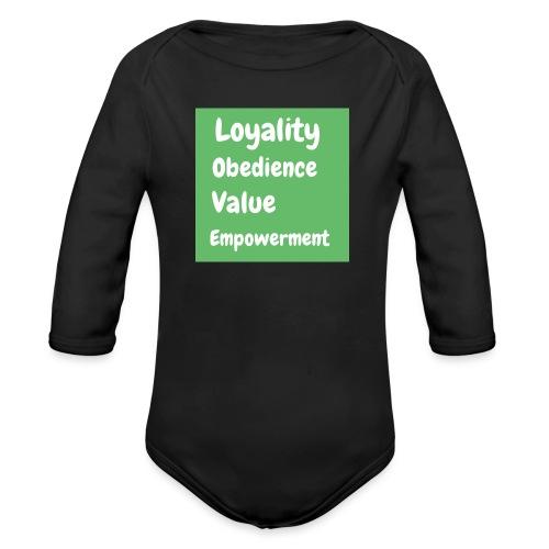 loyality - Ekologisk långärmad babybody