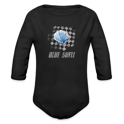BLUE SHELL WINTER EDITION - Baby Bio-Langarm-Body