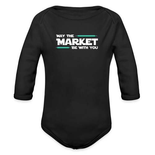 May the market be with you - Body Bébé bio manches longues