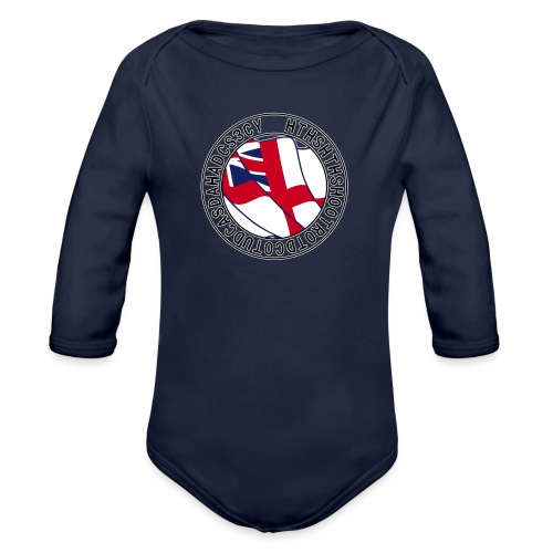 Hands to Harbour Stations (DC) - Organic Longsleeve Baby Bodysuit