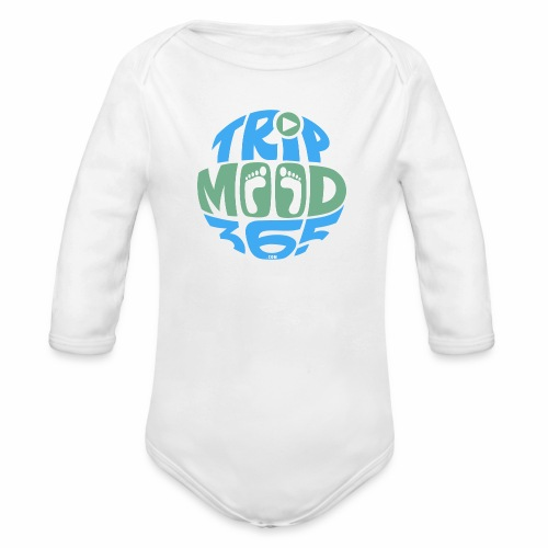TRIPMOOD365 Traveler Clothes and Products- Colors - Vauvan pitkähihainen luomu-body
