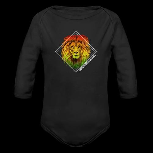 LION HEAD - UNDERGROUNDSOUNDSYSTEM - Baby Bio-Langarm-Body