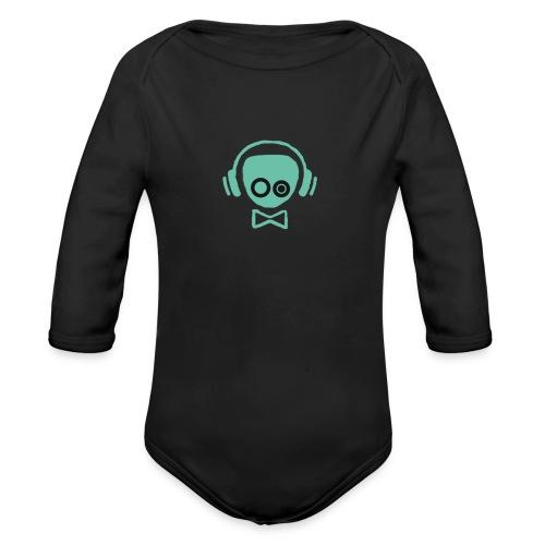 Gamer Design - Langærmet babybody, økologisk bomuld