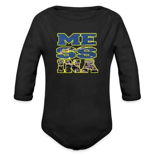 MESSINA YELLOW - Body ecologico per neonato a manica lunga