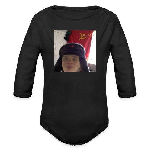 Kommunisti Saska - Vauvan pitkähihainen luomu-body