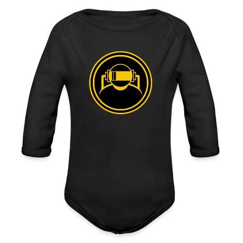 Mens Slim Fit T Shirt. - Organic Longsleeve Baby Bodysuit
