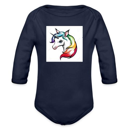 Girls - Organic Longsleeve Baby Bodysuit