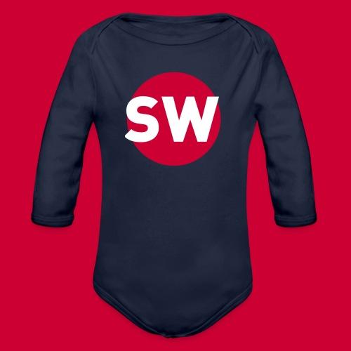 SchipholWatch - Baby bio-rompertje met lange mouwen