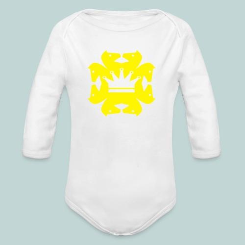 acht Springer - Baby Bio-Langarm-Body