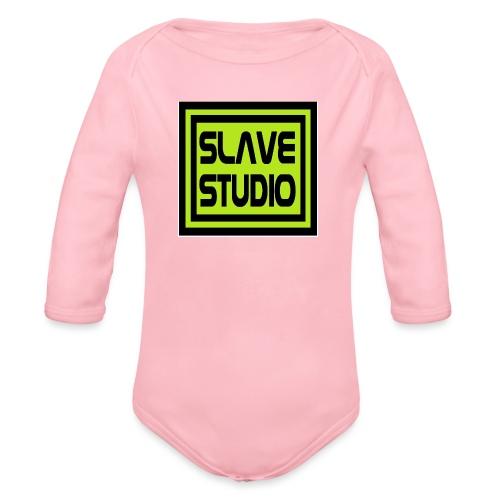 Slave Studio logo - Body ecologico per neonato a manica lunga