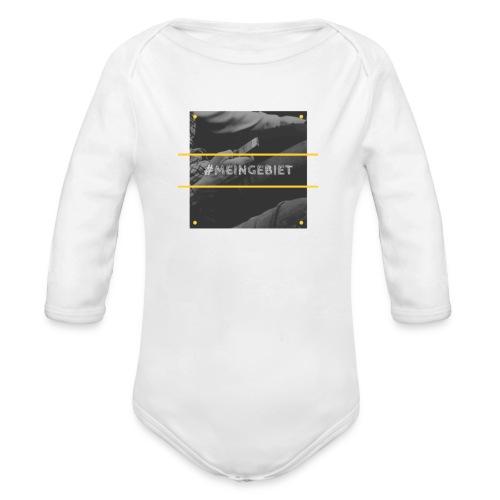 MeinGebiet - Baby Bio-Langarm-Body