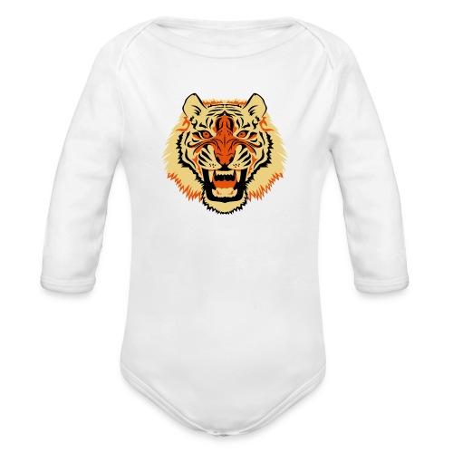 Tiger - Baby bio-rompertje met lange mouwen