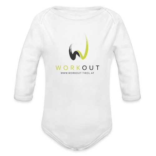 Workout Color mit Url - Baby Bio-Langarm-Body
