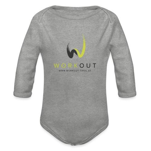 Workout Color mit Url - Baby Bio-Langarm-Body