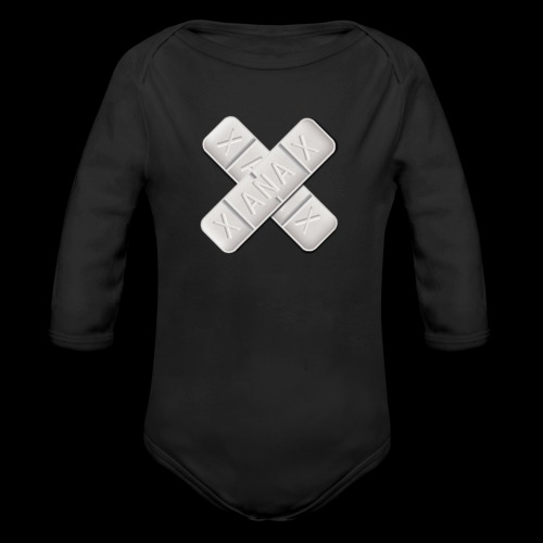 Xanax X Logo - Baby Bio-Langarm-Body