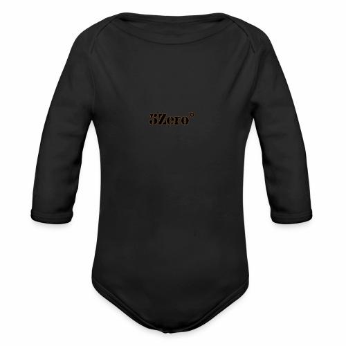 5ZERO° - Organic Longsleeve Baby Bodysuit