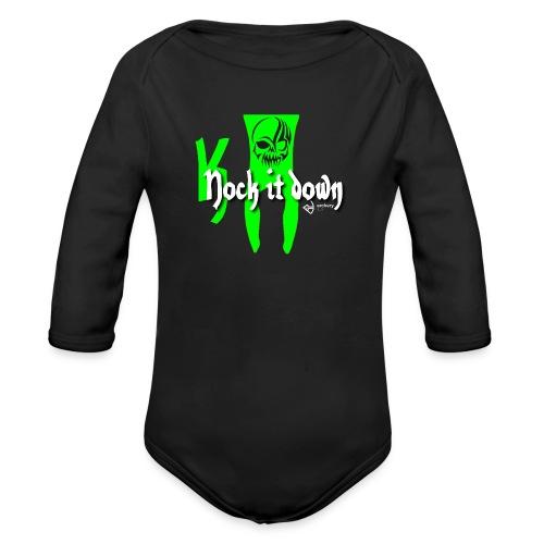 Nock it down - Baby Bio-Langarm-Body