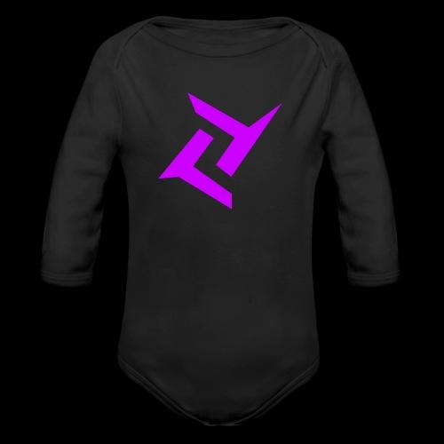 New logo png - Baby bio-rompertje met lange mouwen
