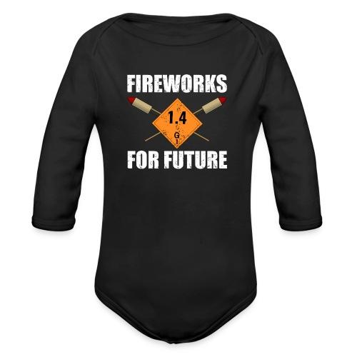 Fireworks for Future Silvester Pyro - Baby Bio-Langarm-Body