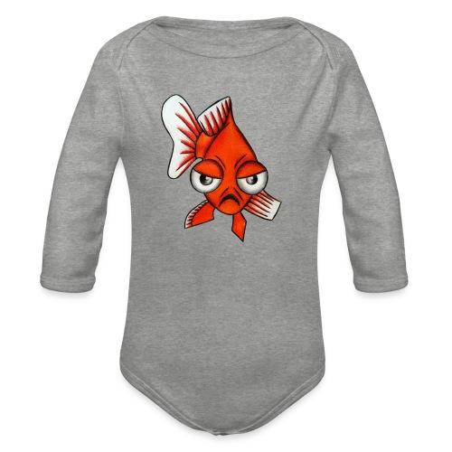 Angry Fish - Body Bébé bio manches longues