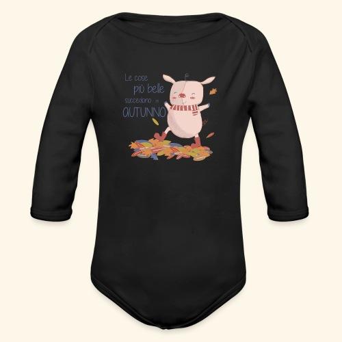 Autumn - Organic Longsleeve Baby Bodysuit