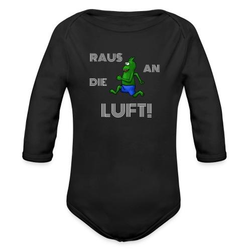 Raus an die Luft! - Organic Longsleeve Baby Bodysuit
