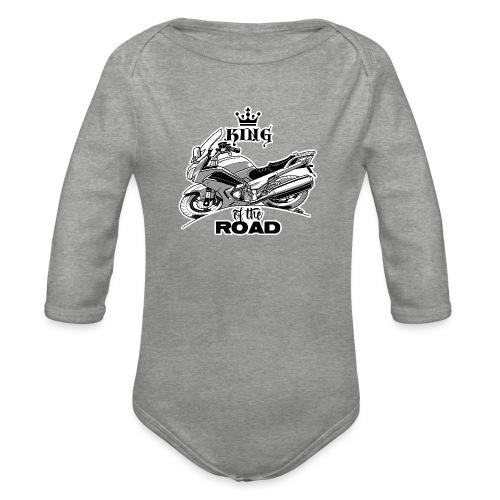 0883 FJR KING of the ROAD - Baby bio-rompertje met lange mouwen