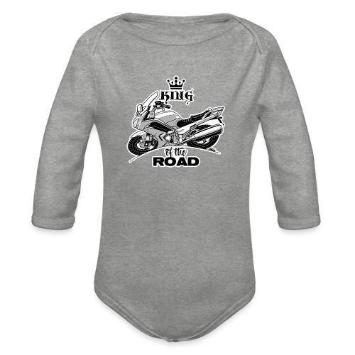 0884 FJR KING of the ROAD - Baby bio-rompertje met lange mouwen