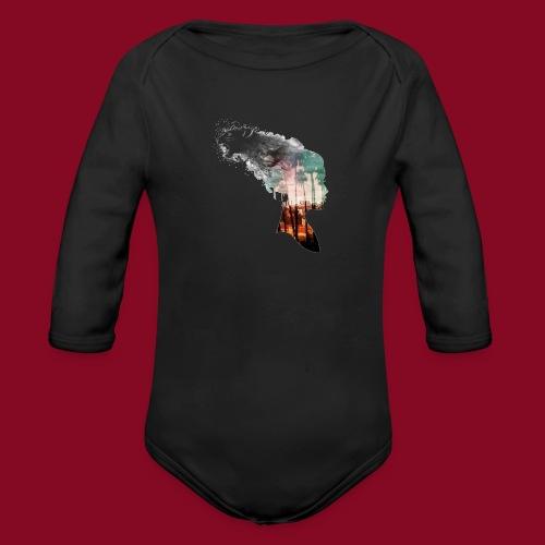 -Trasformation- - Body ecologico per neonato a manica lunga