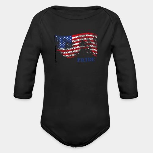 USA - Ekologiczne body niemowlęce z długim rękawem
