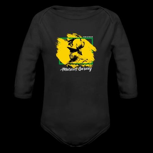MARCUS GARVEY by Reggae-Clothing.com - Baby Bio-Langarm-Body
