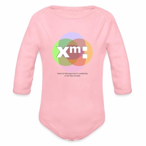 xm-institute Logo Edition - Baby Bio-Langarm-Body
