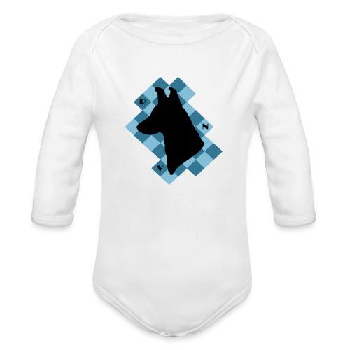 SquareDog - Vauvan pitkähihainen luomu-body