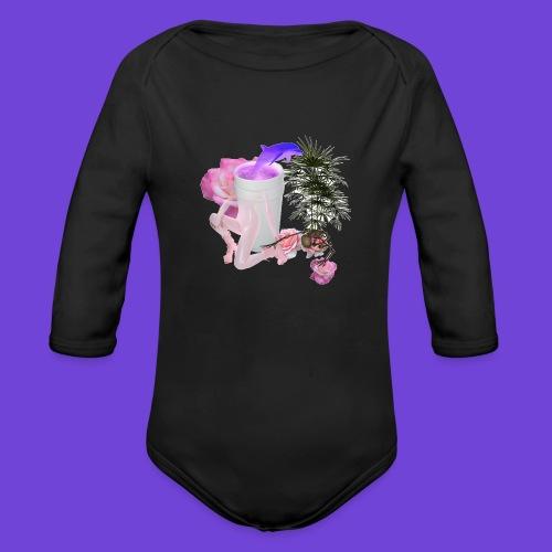 Purple Drank - Body ecologico per neonato a manica lunga