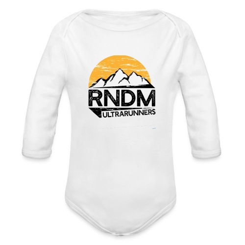 RndmULTRArunners T-shirt - Organic Longsleeve Baby Bodysuit