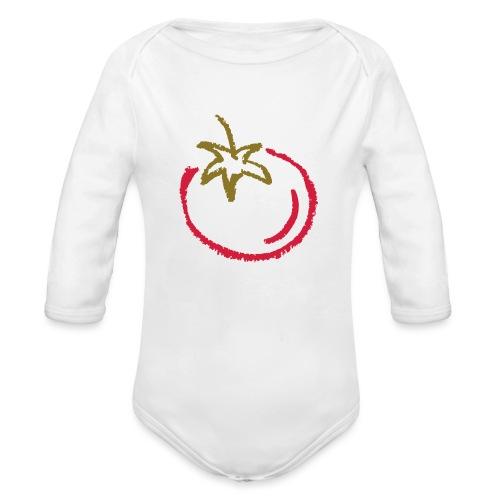 tomato 1000points - Organic Longsleeve Baby Bodysuit