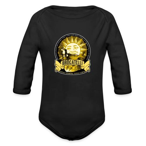 T-Shirt PESCATORE - Body ecologico per neonato a manica lunga