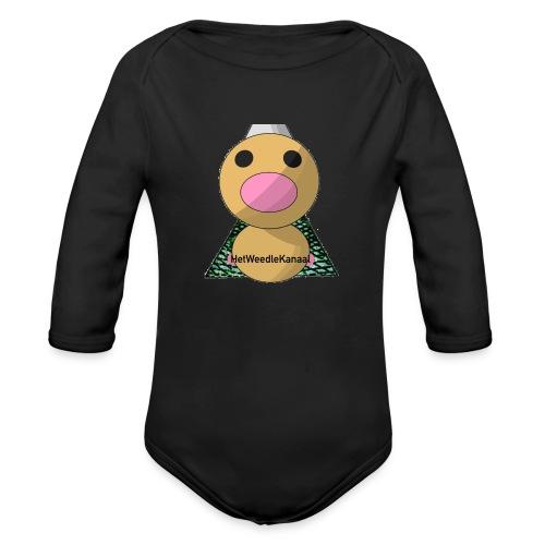 HetWeedleKanaal shirt KINDER EN TIENER MATEN - Baby bio-rompertje met lange mouwen