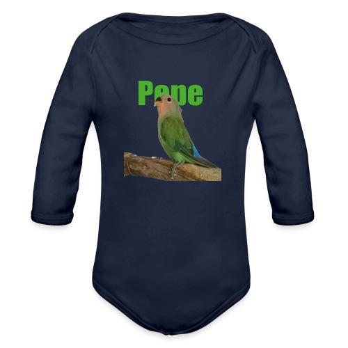Pepe - Vauvan pitkähihainen luomu-body