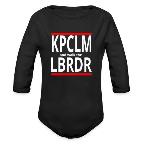 Keep Calm, mal anders - Baby Bio-Langarm-Body
